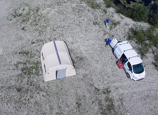 Nixus ERA Inflatable Emergency Relief Tent