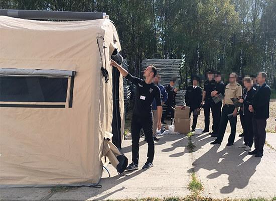 Nixus ERA Inflatable Tent - Military Accommodation Tent