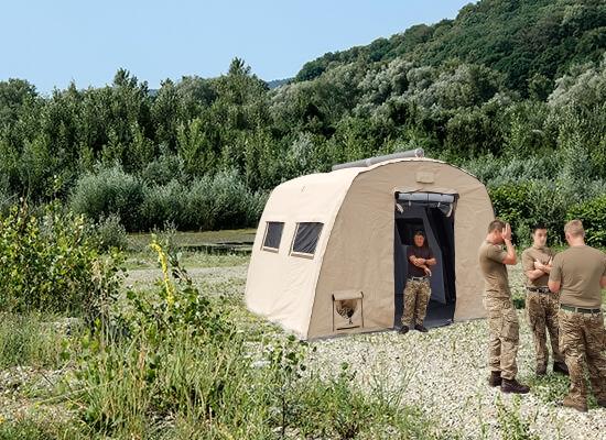 Nixus ERA - Military Accommodation Tent or Humanitarian Relief  Tent