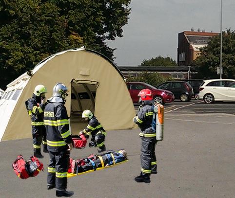 Nixus PRO Emergency Relief Tent