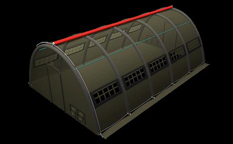Nixus PRO SH Military Tent