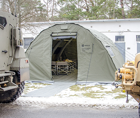 NIXUS PRO Heavy Duty Military or Emergency Relief Tent