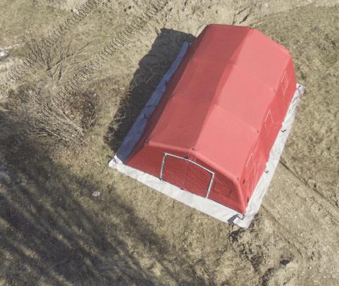 NIXUS PGK General Purpose Military and Emergency Tent