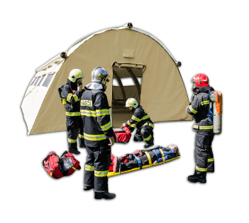 Heavy Duty Shelters for Emergency and Rescue Services