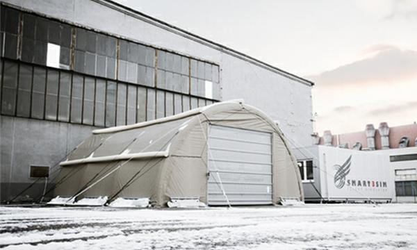 Inflatable Hanger - NIXUS RIBS