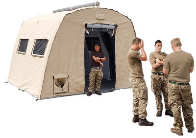 Heavy Duty Shelters for the Military, Rapid Deployment Tents for the Military