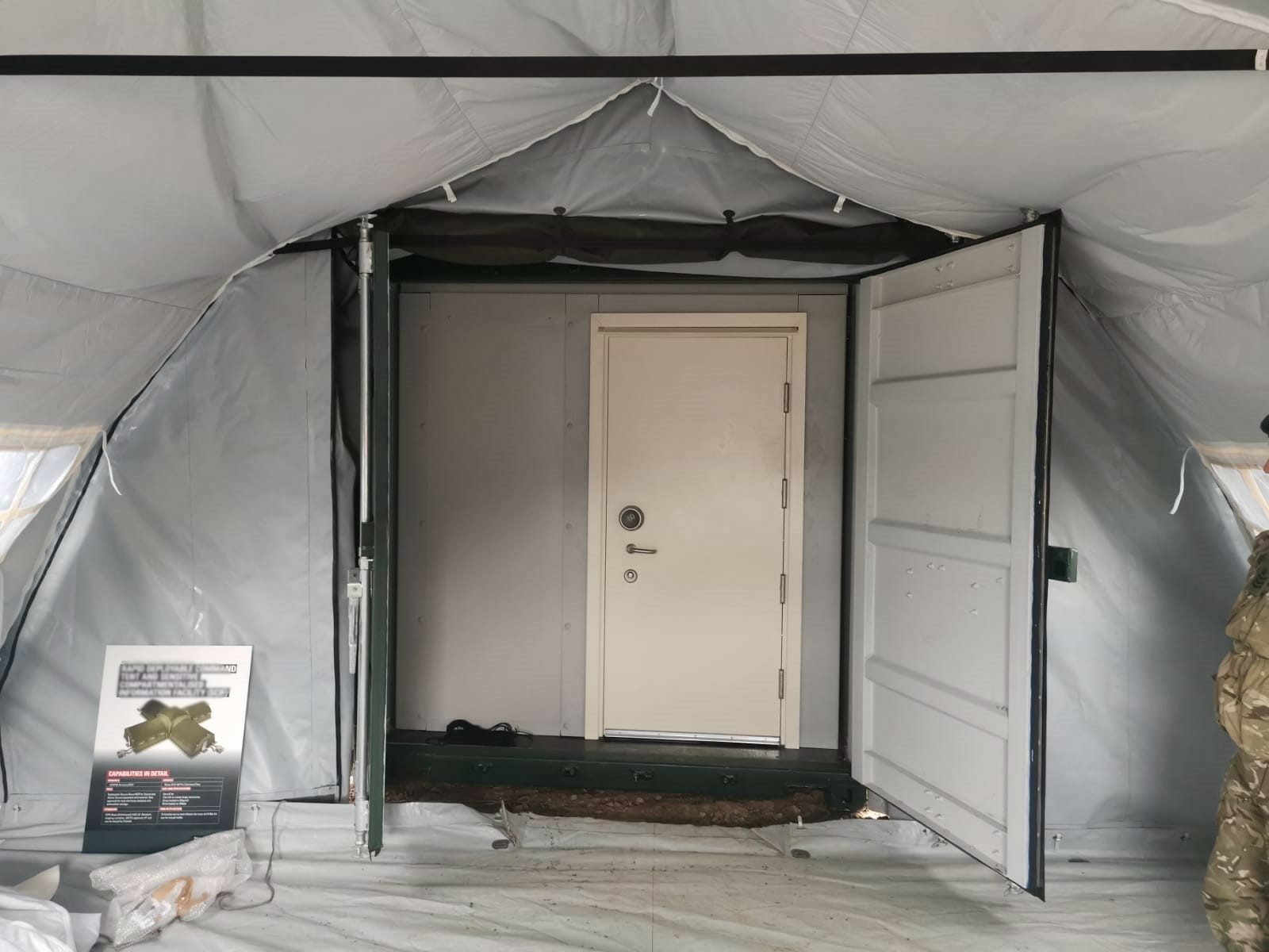 NIXUS PRO Military Tents with ISO Container