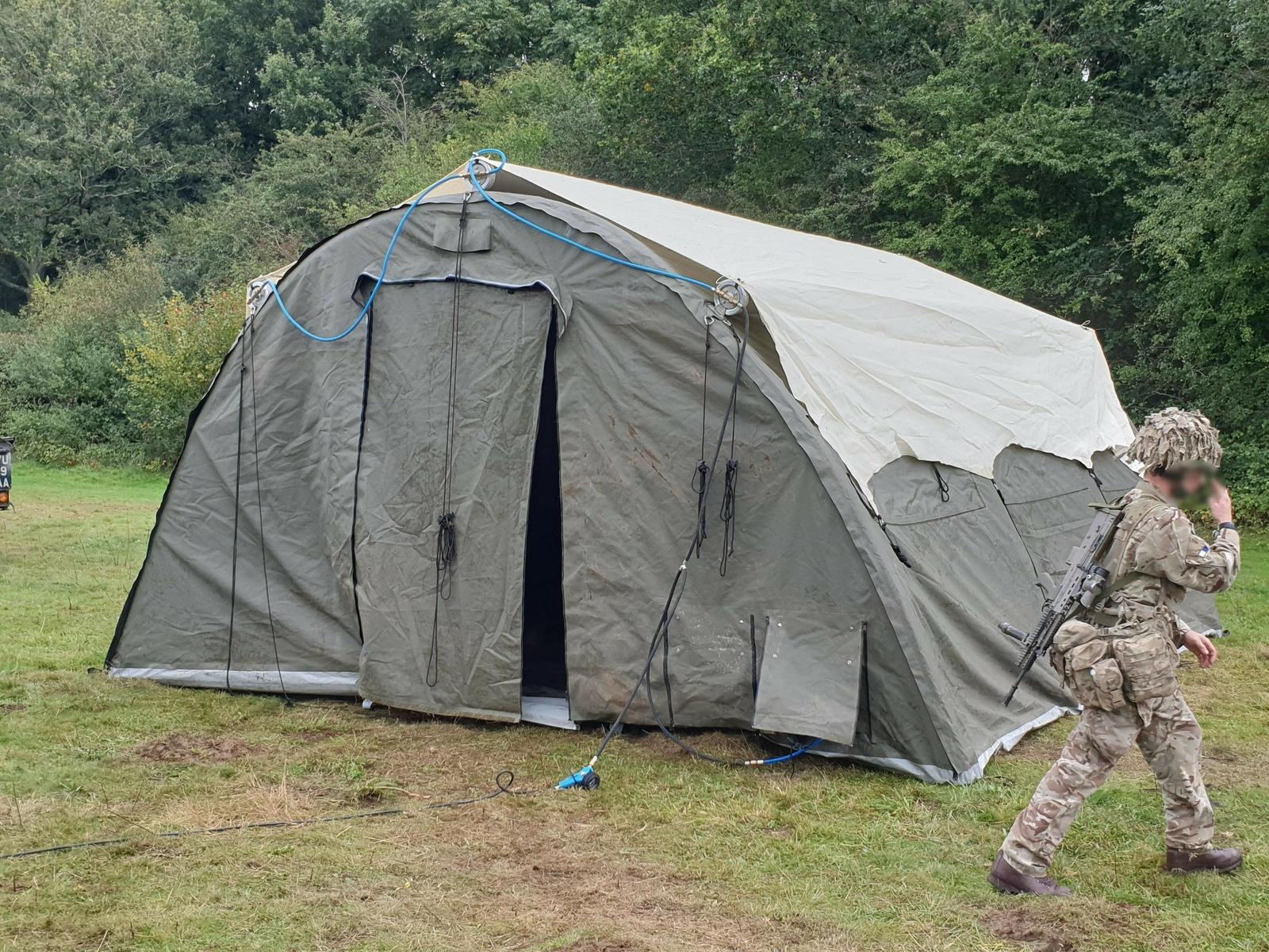 NIXUS PRO Tents with British Army