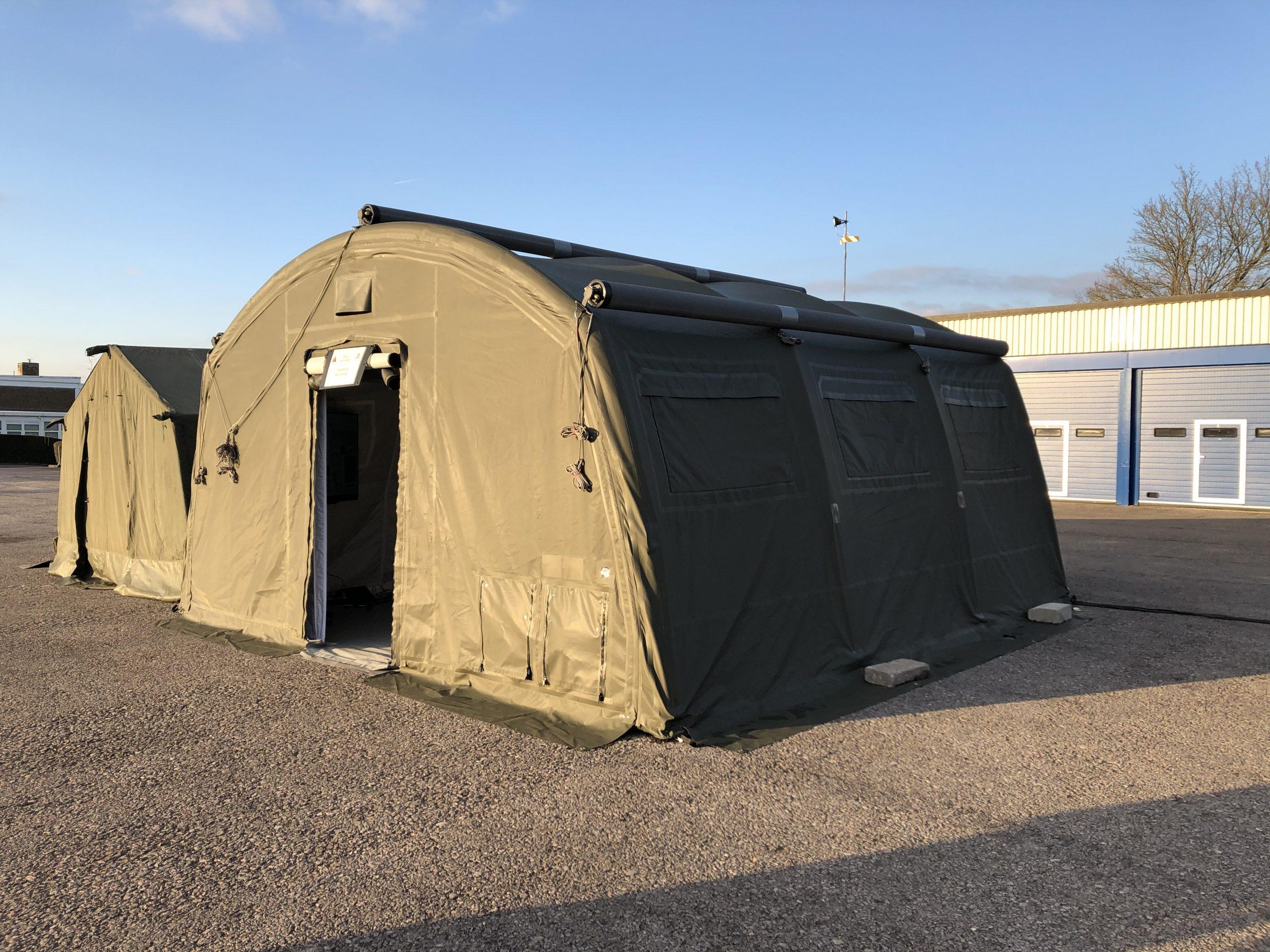 2 x NIXUS ERA Tents supplied to British Army