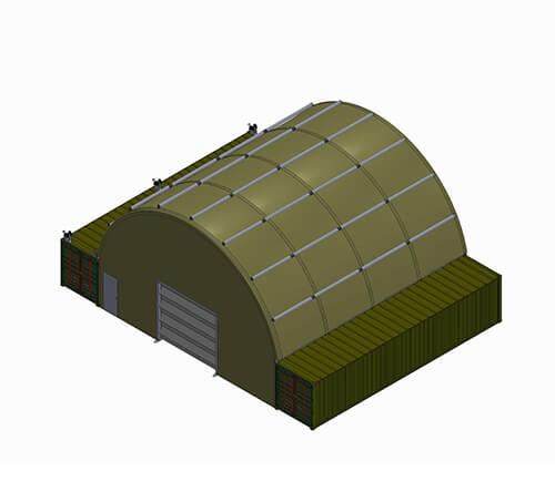 NIXUS PRO ST Heavy Duty Military Tent